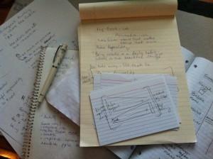 I like taking notes!!